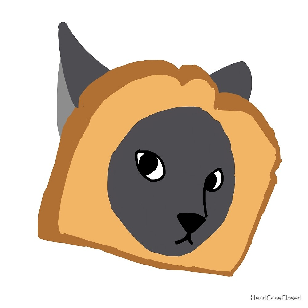 InBread Cat by HeadCaseClosed