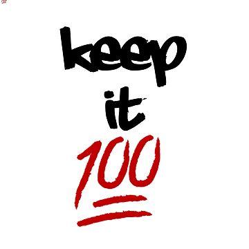 Keep It Hundred by romanmtz