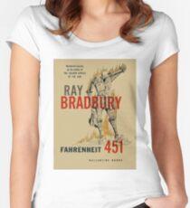 fahrenheit 451 Shirt   Women's Fitted Scoop T-Shirt