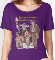 Indiana Holmes and the Comedians of Doom Women's Relaxed Fit T-Shirt