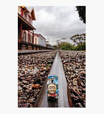 Thomas Pulls Into The Station In Beverley Photographic Print