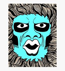 Twilight Zone Gremlin Photographic Print