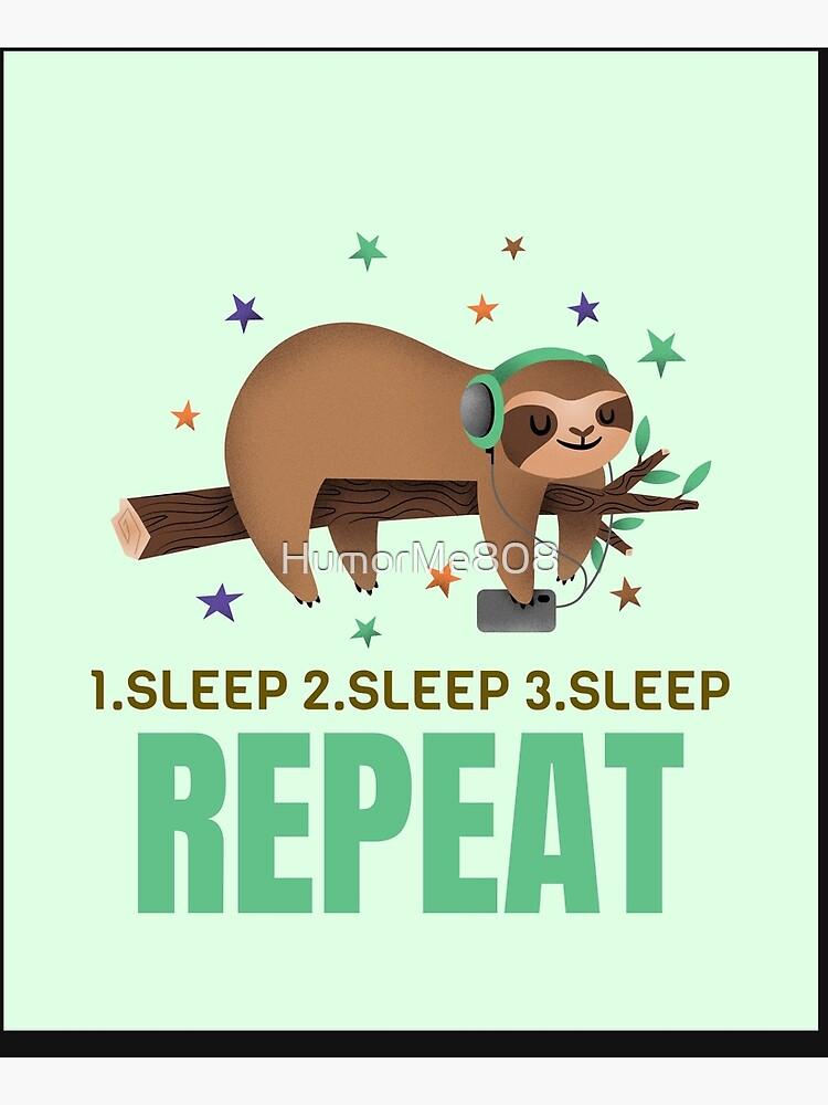 Sleep Sloth by HumorMe808