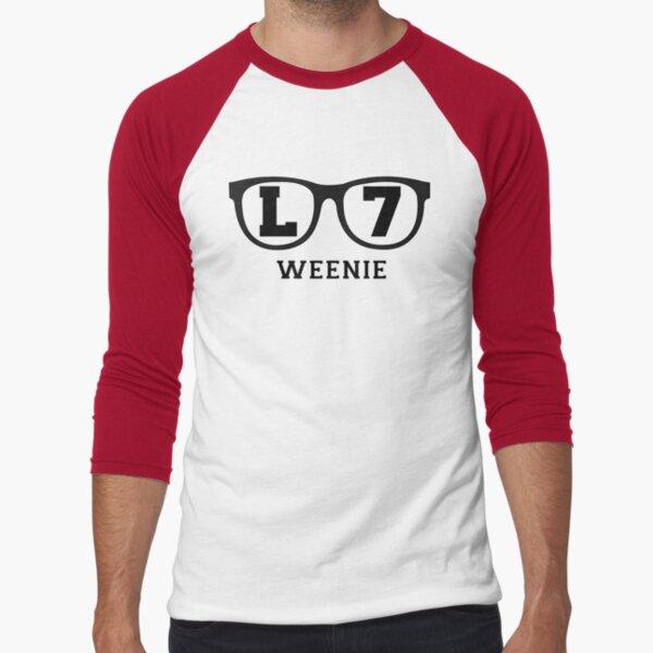 L 7 Weenie Baseball ¾ Sleeve T-Shirt