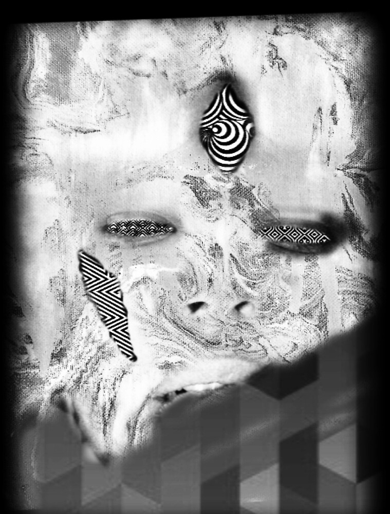 OpEn Eyez Mind by Chris-Slyder  Apparel-White