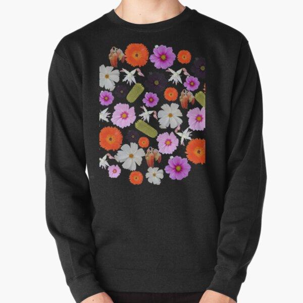 Winter Flower Pullover Sweatshirt