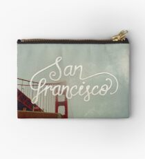Golden Gate Bridge, San Francisco Studio Pouch