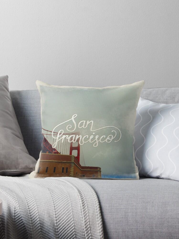 Golden Gate Bridge, San Francisco by Theysaurus