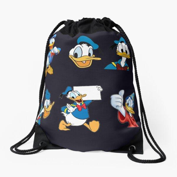 Donald duck Drawstring Bag