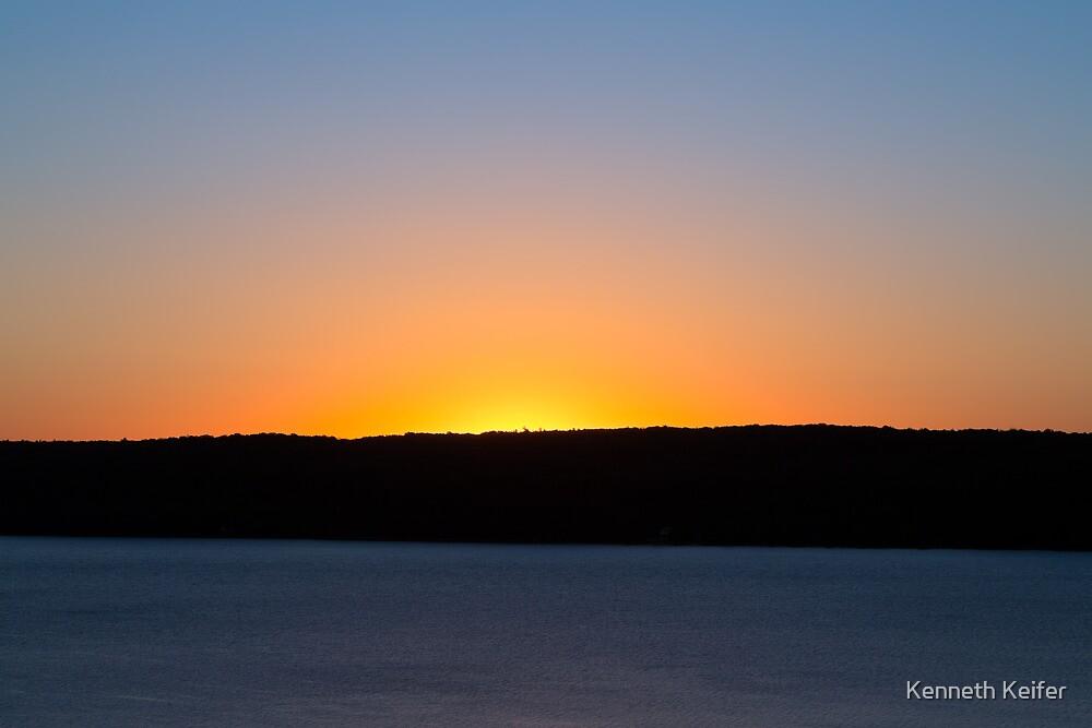 Sunrise Over South Bay by Kenneth Keifer