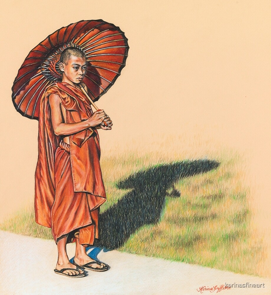 Sacred Path by karinasfineart