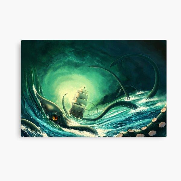 Kraken - version 2 Canvas Print