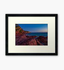 Bar Beach, Merimbula Framed Print