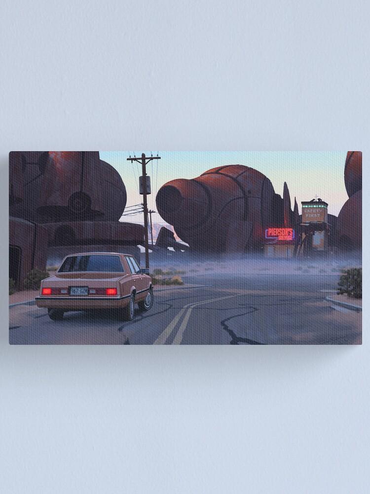 Alternate view of Mojave Metal II Canvas Print