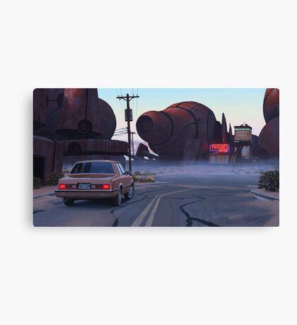 Mojave Metal II Canvas Print