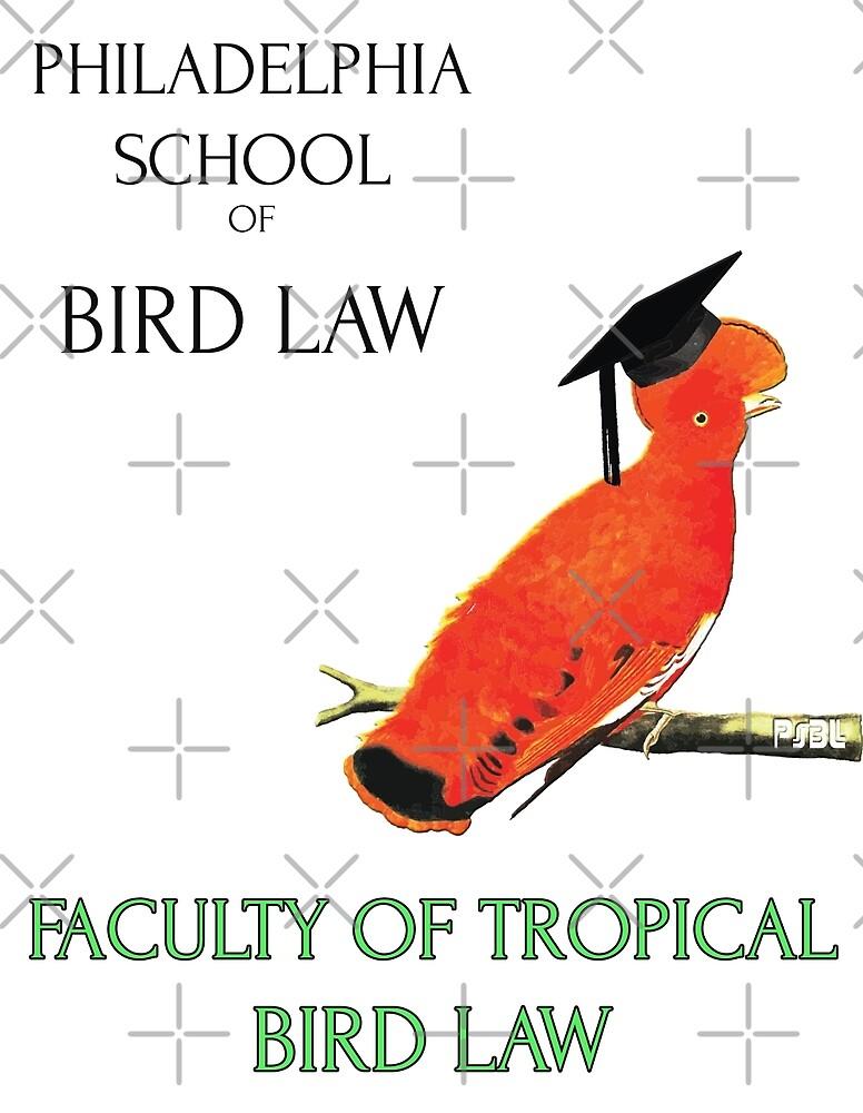 Philadelphia School of Bird Law, Faculty Tropical Law by EdgarCat