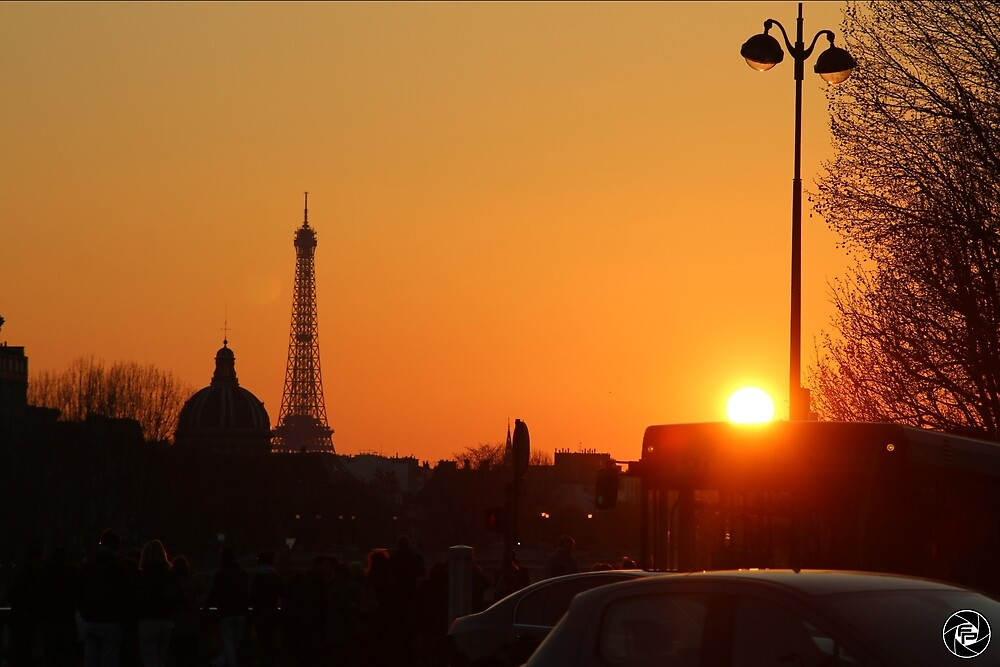 Paris Sunset by fordproductions