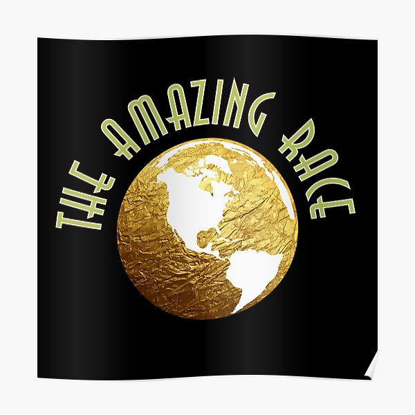 The amazing race classic t-shirt  Poster