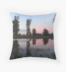 Lake Mirror Throw Pillow