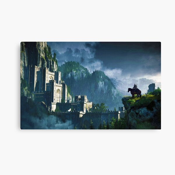 Witcher 3 Graphic Canvas Print