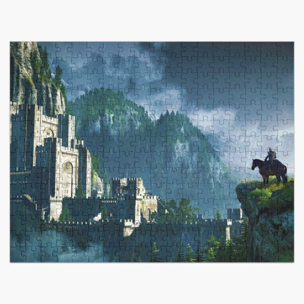 Witcher 3 Graphic Jigsaw Puzzle