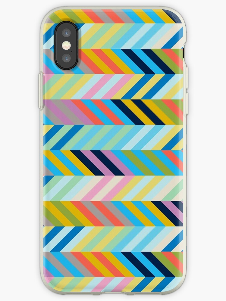 Geometric Rainbow Pattern by emrapper