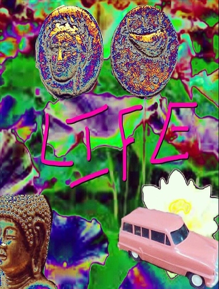 LIFE by Chris-Slyder  Apparel-White