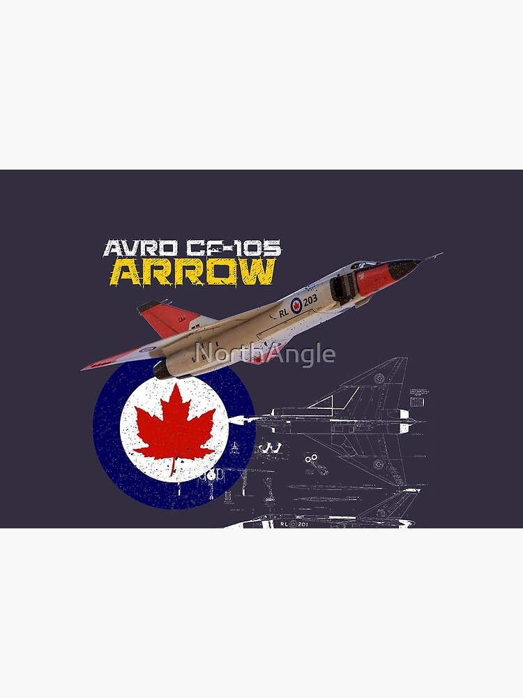 Canadian Avro CF-105 Arrow by NorthAngle