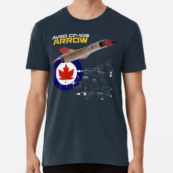 Canadian Avro CF-105 Arrow Premium T-Shirt