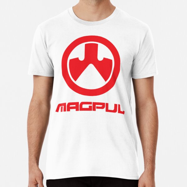 The Trusted Of Bodyarmor brand, Magpul Red Logo Premium T-Shirt