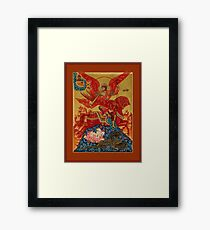 The Archangel Michael  Defeating Satan  Framed Print
