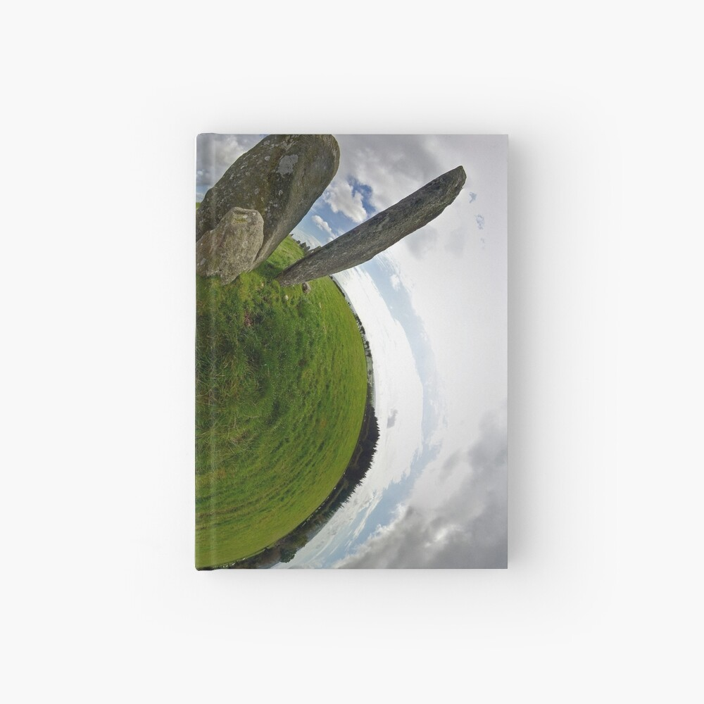 Beltany Stone Circle, Donegal Hardcover Journal