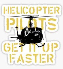 Up Faster Sticker