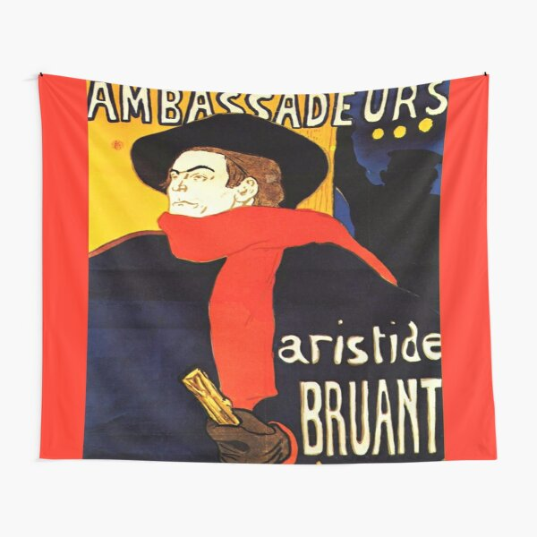 Ambassadeurs Aristide Bruant in his cabaret Tapestry
