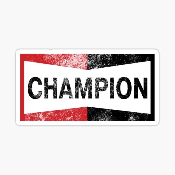 Logo Vintage Champion Sticker