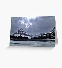 Glaciers  Greeting Card