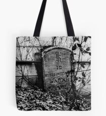 The Tiny Grave Tote Bag
