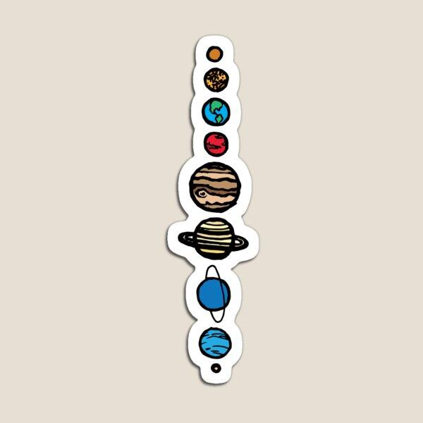 Planets Colour Magnet