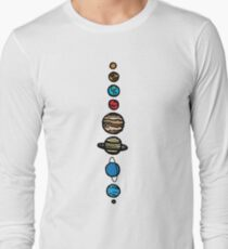Planets Colour T-Shirt