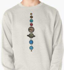 Planeten Farbe Sweatshirt