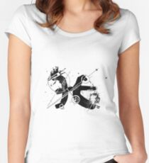 Gonzo Zodiac - Pisces Women's Fitted Scoop T-Shirt