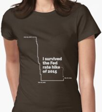 Fed Rate Hike Women's Fitted T-Shirt