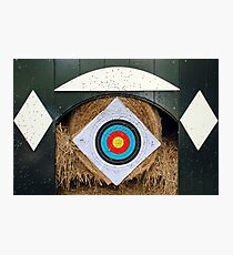 Archery statistics Photographic Print