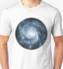 Whirlpool Galaxy [Dark Blue] | Fresh Universe Slim Fit T-Shirt