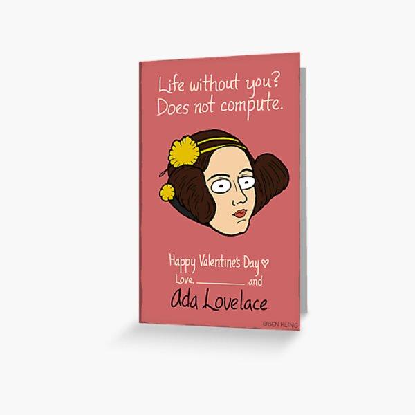Ada Lovelace Greeting Card