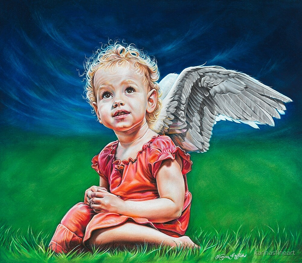 Angel by karinasfineart
