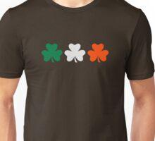 Ireland flag shamrocks Unisex T-Shirt