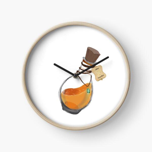 Flasque de Potion Magique 'anti idiots' Horloge