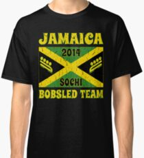 Vintage 2014 Jamaican Bobsled Team Sochi Olympics T Shirt Classic T-Shirt
