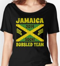 Vintage 2014 Jamaican Bobsled Team Sochi Olympics T Shirt Women's Relaxed Fit T-Shirt